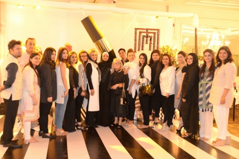 MM Team at Masarrat Misbah Makeup's 1st Anniversary Lunch (1024x683)