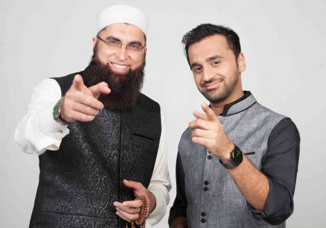 Junaid Jamshed and Waseem Badami.jpg
