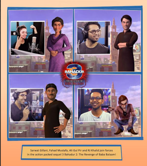 [Press Release] The first look for '3 Bahadur The Revenge of Baba Balaam'.png